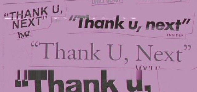 Ariana Grande – Thank You Next MP3.