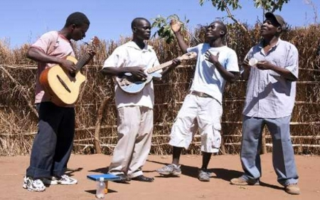 Kunjoya Mwa Jesu (Rejoice in the Lord) by Malawi Mouse Boys