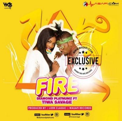 Fire - Diamond Platnumz Ft  Tiwa Savage : Free MP3 Download | Free Ziki
