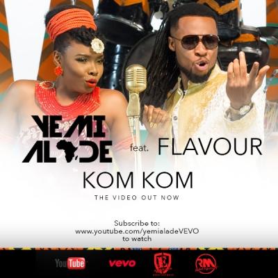 Kom Kom  - Yemi Alade Ft. Flavour
